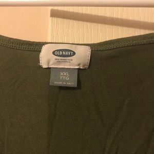 Old Navy Tops - Old Navy XXL Green Luxe Tank
